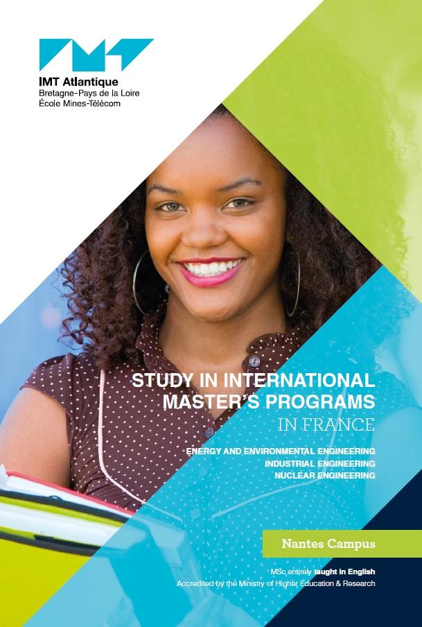 Brochure des programmes de masters internationaux