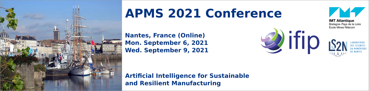 APMS 2021 « Artificial intelligence for Sustainable and Resilient Production »