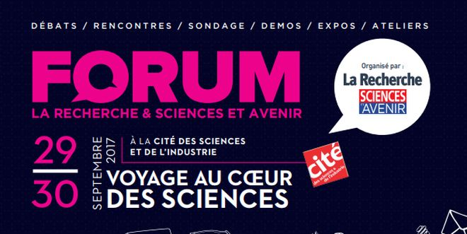 Forum des sciences 2017
