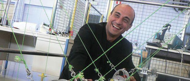 Frédéric Boyer porfesseur de Robotique au département automatique, productique et informatique