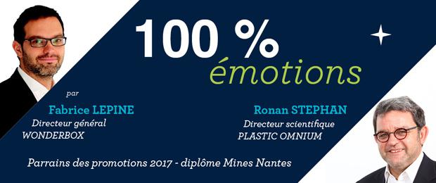 Remise des diplômes IMT Atlantique-diplôme Mines Nantes promotion 2017