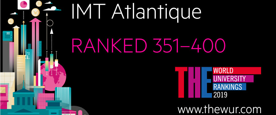 IMT Atlantique enter in the top 400 of the famous THE World University Rankings