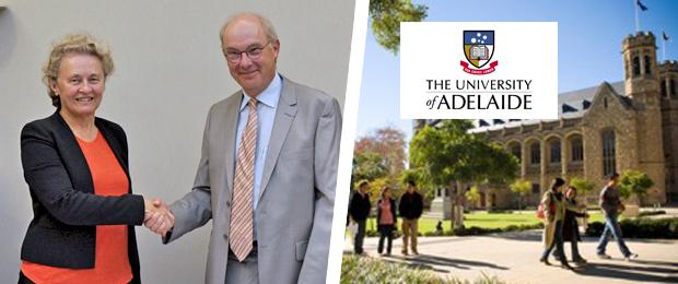 IMT Atlantique signe un accord de coopération avec l'université d'Adélaïde (Australie)