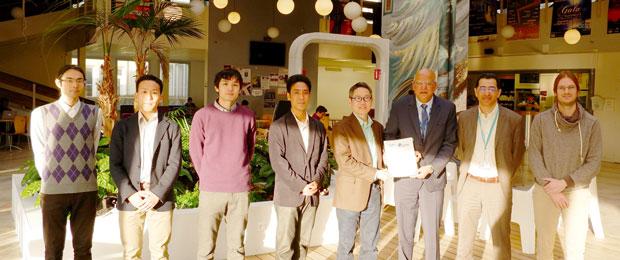 IMT Atlantique et le RIKEN, centre de recherche japonais, signent un accord de partenariat