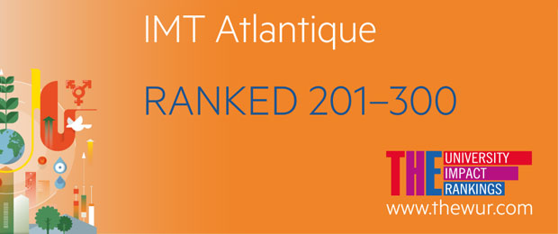 "THE University Impact Rankings: IMT Atlantique 1st French institution in the field of ""Industry and innovation"