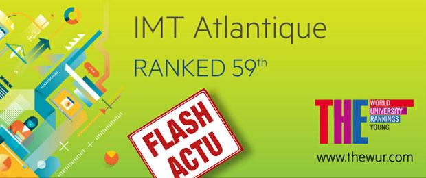 IMT Atlantique 59 ème université mondiale de moins de 50 ans !