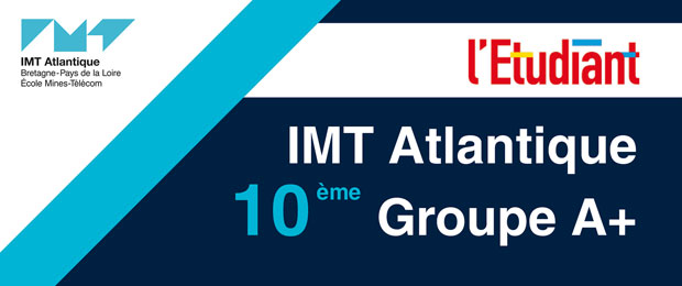 IMT Atlantique en 10ème place du palmarès 2019 de L'Étudiant