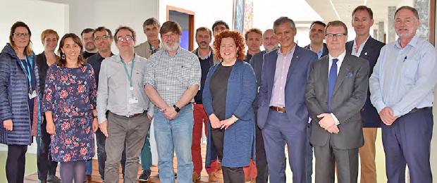 La délégation australienne et des enseignants du Labsticc