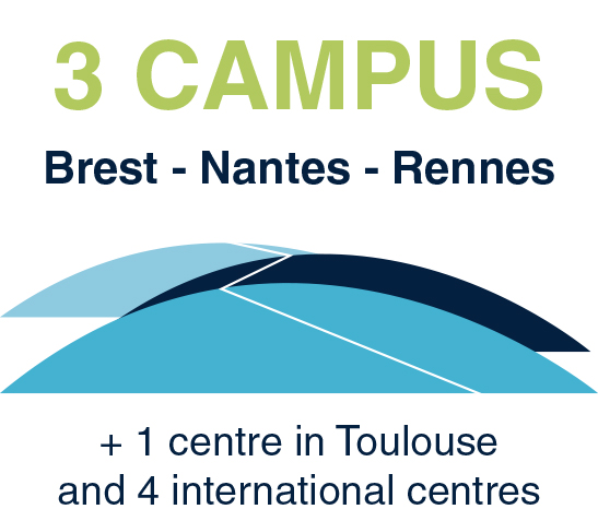 3 campuses