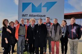 Project Meeting at IMT Atlantique January 25th 2018