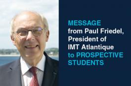 A message from the President of IMT Atlantique to prospective students