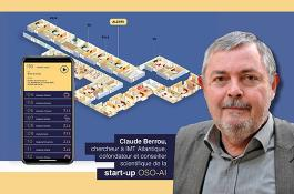 Claude Berrou, co-founder and scientific advisor of the startup OSO-AI