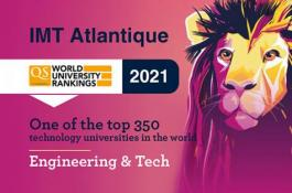 IMT Atlantique's reputation with employers propels the school forward in the QS by Subject 2021