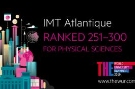 THE World Rankings 2019 par thème : IMT Atlantique classée en Physical sciences, en Engineering & Technology et en Computer Science !