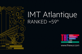THE YUR: IMT Atlantique ranked 59th young university in the world