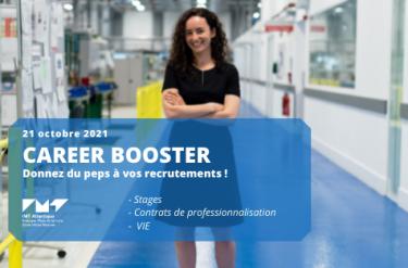 Career Booster : nouvelle édition le 21 octobre du job dating d'IMT Atlantique