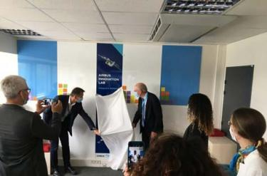 Airbus Innovation Lab: Airbus' new space for creativity and entrepreneurship at IMT Atlantique