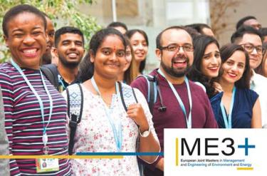 [Nouveau] Master de gestion et d'ingénierie de l'environnement et de l'énergie (ME3+) labélisé Erasmus Mundus