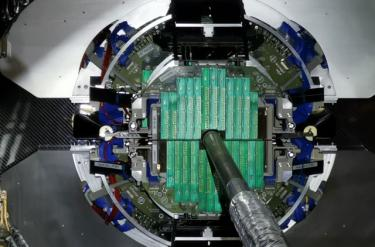 ALICE experiment at the LHC: SUBATECH takes leap forward with the installation of the MFT detector