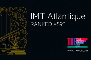 THE YUR: IMT Atlantique ranked 59th in the world for under 50 year olds