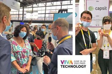 7 startups et la chaire Cyber CNI à VivaTech 2021