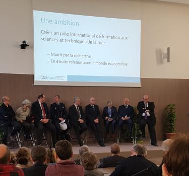 Inauguration de l'École Universitaire de Recherche ISblue