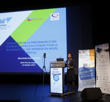 Congrès SFGP 2019 : une ingénieure diplômée  Prix de la meilleure thèse