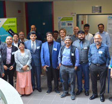 'Artificial Intelligence' workshop in Rennes for an Indian delegation of the Knowledge Summit 2019