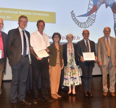Remise des Grands Prix internationaux de la Société Française de Physique