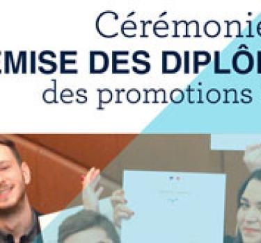 16 novembre : Remise des diplômes par Michel DENIS, DG de Manitou