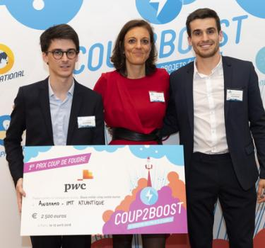ANDYAMO remporte un 1er prix au Coup2Boost 2018