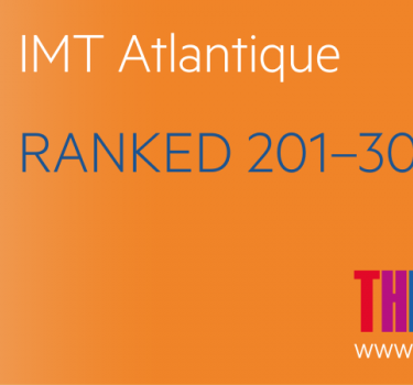 THE University Impact Rankings: IMT Atlantique 1st French institution in the field of 'Industry and innovation'