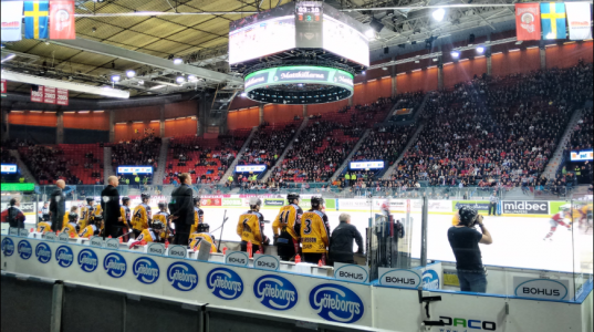 match hockey Goteborg