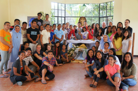 Photo de groupe Mission humanitaire Philippines 2015