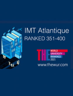 IMT Atlantique poursuit sa progression dans les classements internationaux