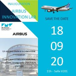 Inauguration d Airbus Innovation Lab