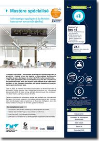 Informatique appliquée à la décision bancaire et actuarielle