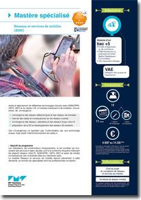 mastère spécialisé Réseaux, Services Mobiles