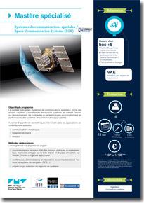 mastère spécialisé Systèmes de communications spatiales