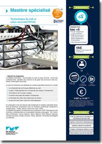 mastère spécialisé Technologies du Web et Cyber-sécurité