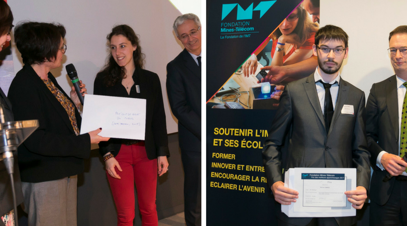 FONDATION MINES TELECOM LES LAUREATS 2018 STAGES, APPRENTISSAGE ET THESES