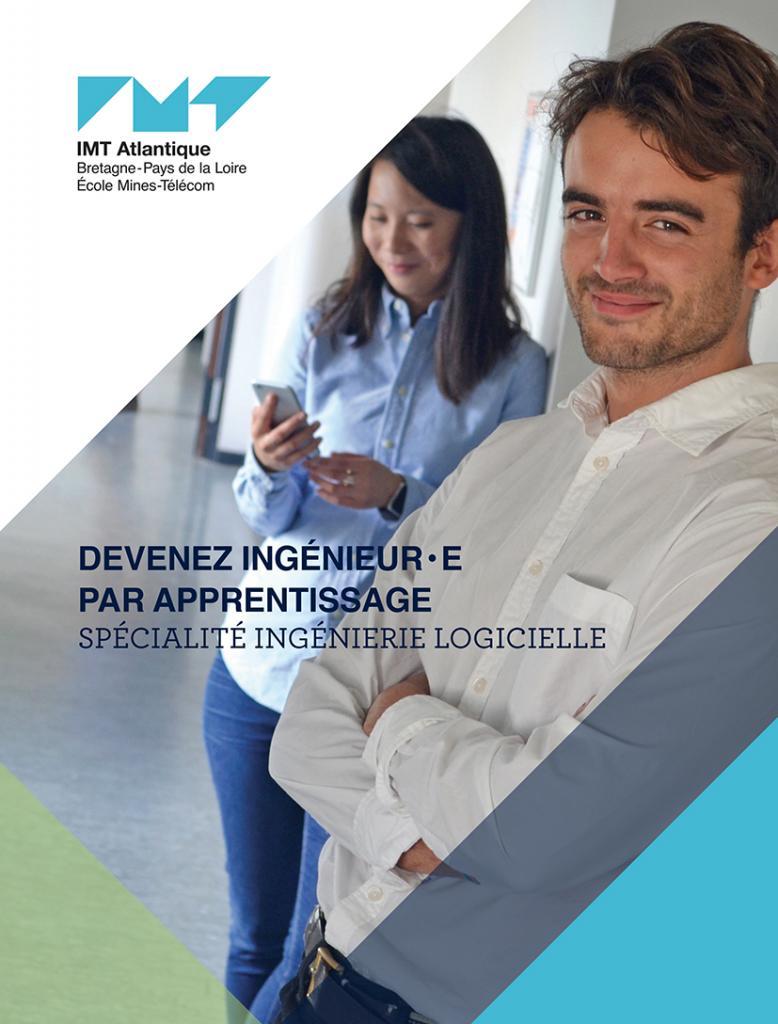 brochure formation ingénieur par apprentissage spécialité Ingénierie logicielle